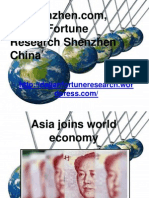 Dfrshenzhen.com, Dalian Fortune Research Shenzhen China - Asia Joins World Economy