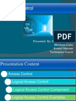 Logical access control