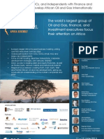 Oil Council - 2013 Africa Assembly Brochure