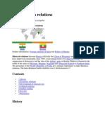 Burma and India