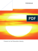 Infrared for Photovoltaics Industry