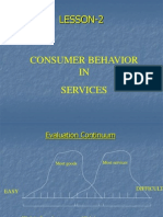 Lesson-2-4 Consumer Behavior in Services