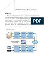 ABSTRACT VirtualizedScreen a Third Element for Cloud Mobile Convergence
