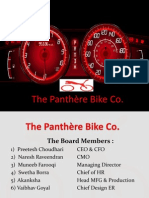 Team No 3 Panthere Bike Co.