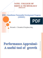 Performance Appraisal- A useful tool of  growth cpd presentation