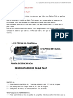 Reparando Cable Flat
