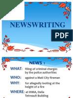 news writing acitivity.pptx