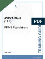 TM-1001 AVEVA Plant (12.1) PDMS Foundations Rev 3.0