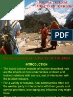 Socio-cultural Impact of Tourism