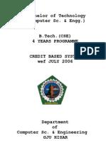 B.tech.(CSE)Syllabus