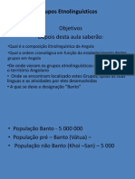 Grupos etnolinguisticos