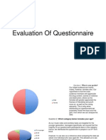Evaluation of Questionnaire CD Digipak