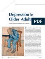 Depression in Older Adults.21