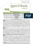 Journal on Surgical NPO