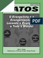 Revista Atos 21/1 - O Evangelista e a Evangelização - Levando o Evangelho a Todo o Mundo