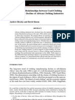 Brooks Simon 2012 Used Clothing and Decline of African Clothing Industries DC Early View