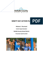 Interim DeKalb Schools Superintendent, Michael Thurmond's 90 Day Action Plan