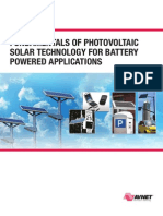 Fundamentals of Photovoltaic