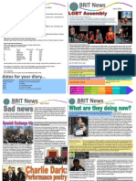 The BRIT School Newsletter - April 2013