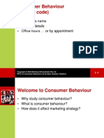 Consumer Behavior & Marketing Strategy