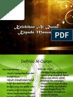 Kelebihan Al-Quran Kepada Manusia
