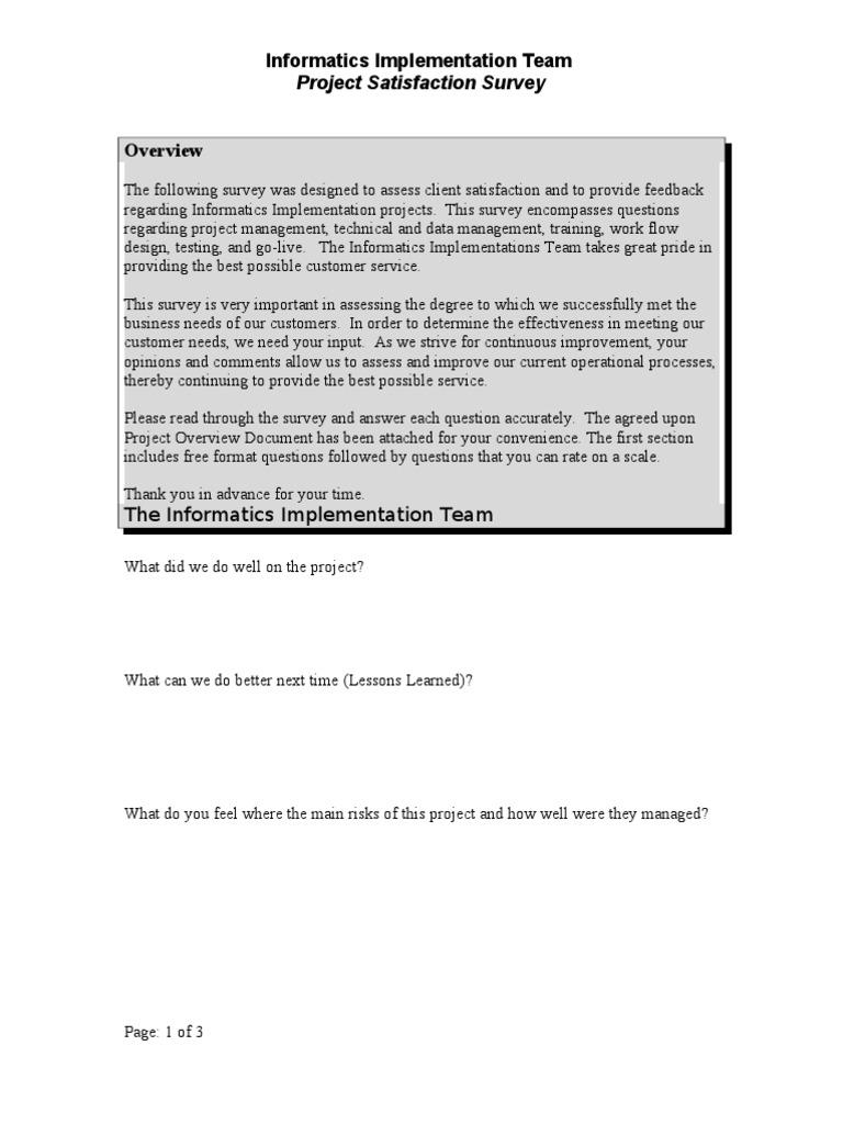 Customer Satisfaction Checklist Checklists Visitor award templates ...