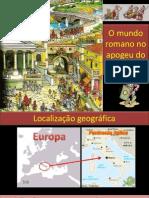 1-Formação do Imp Romano e economia