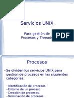 05 ServiciosUNIX Procesos Threads