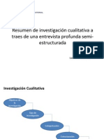 Resumen de Investigacion Cualitativa Informe Final