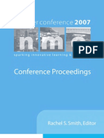 2007 NMC Summer Conference Proceedings