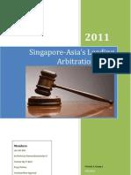 Arbitration in Singapore