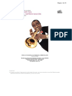 Guia didáctica de música no escrita.Improvisación