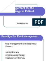 Fluid Management for the Pediatric Surgical Patient POWERPOINT