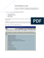 SAP LSMW Tutorial with Steps to create.docx