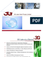 3G Labs- Technical Profile