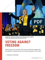 Voting Against Freedom - Wilson Quarterly