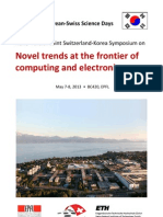 Nano-Tera.ch Joint Switzerland-Korea Symposium