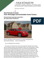 Der neue Porsche 911 S – Dr. Falk Köhler PR – Porsche-Owner testet den neuen Elfer