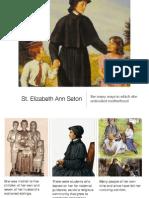 St Elizabeth Ann Seton Mother's Day