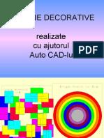 Desene Decorative in CAD