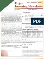 Trojan Investing Newsletter - Volume 1 Issue 2