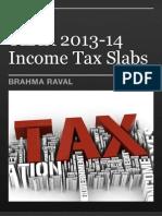 tax slabs 2013-14