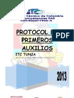PROTOCOLO DE PRIMEROS AUXILIOS ITC TUNJA.docx