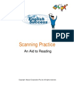 Tool Reading Scanning