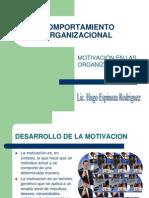 MOTIVACIÓN EN LAS ORGANIZACIONES -5