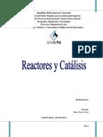 Reactores y Catálisis