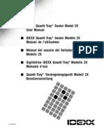 Sop12c Manual Bact Idexx Colilert Quanti Tray Sealer