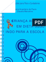 Crianca Autista Em Dieta Sgsc Indo Para Escola