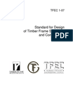Standard for Design of Timber Frame Structures and Commentary