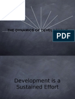 Dynamics of Development